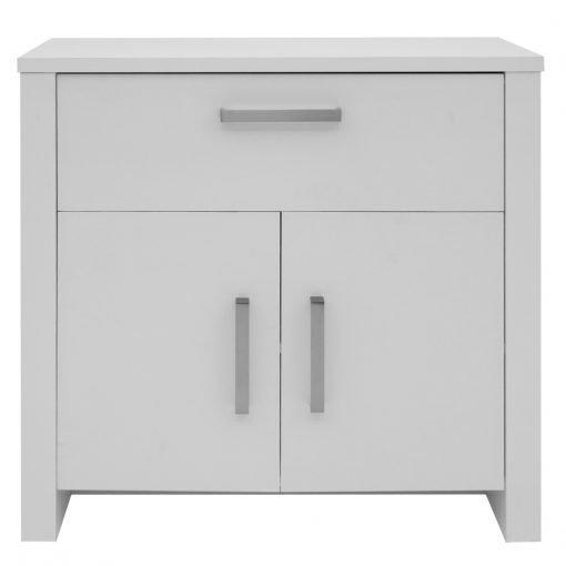 Lounge Furniture Devoted2Home Boldon Cabinet 2 Door // 4 Drawer Sideboard White